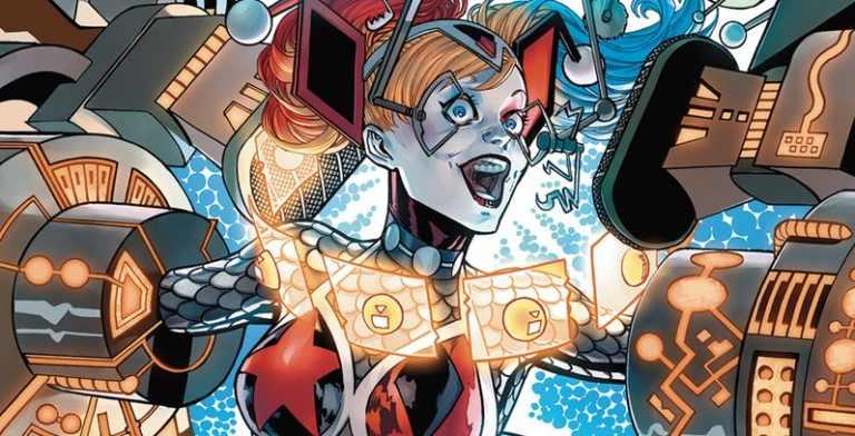 Arlequina coloca todo o Universo DC em perigo