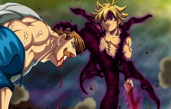 Meliodas Sin Nanatsu No Taizai Seven Deadly Sins Warrior A 1, Fatos Desconhecidos