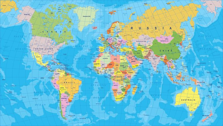 Gif mostra verdadeiro tamanho dos países no mapa múndi e surpreende
