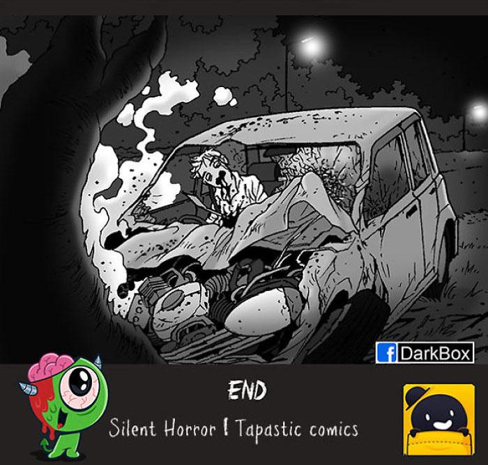Silent Horror Comic 7, Fatos Desconhecidos