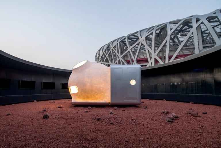 Chineses criam projeto de possível casa para ser habitada em Marte