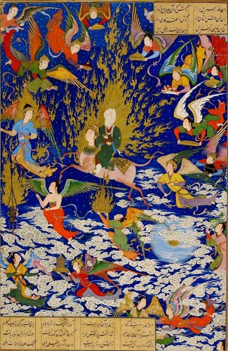 800px Miraj By Sultan Muhammad 325x500, Fatos Desconhecidos