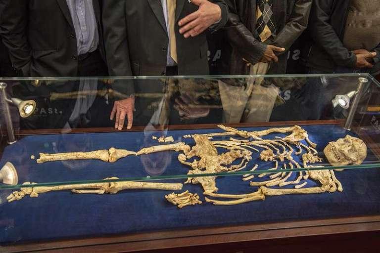 Este esqueleto pode ser na verdade uma raça antecessora aos humanos