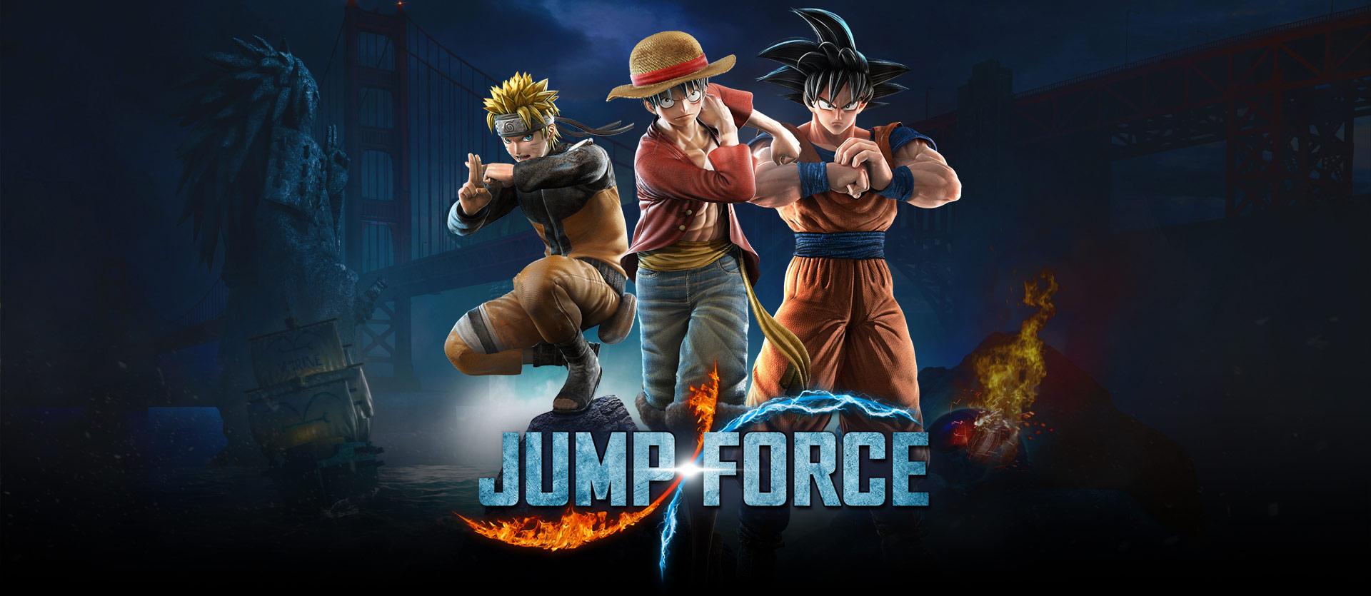 Liberado novo trailer da história de Jump Force