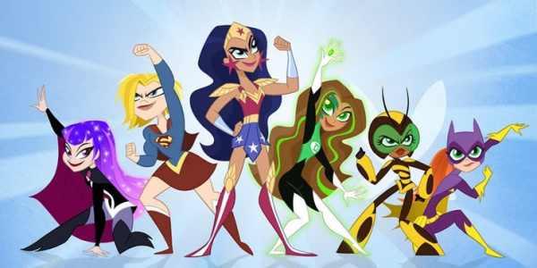 DC Super Hero Girls Cartoon Network 600x300, Fatos Desconhecidos