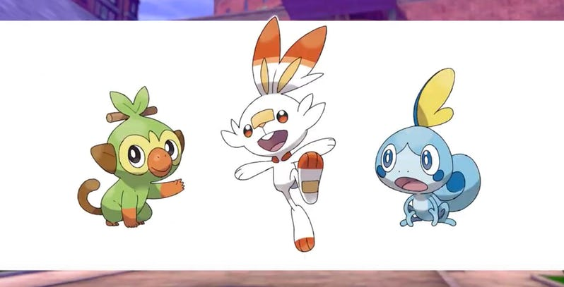 Pokemon Sword Shield Starters, Fatos Desconhecidos