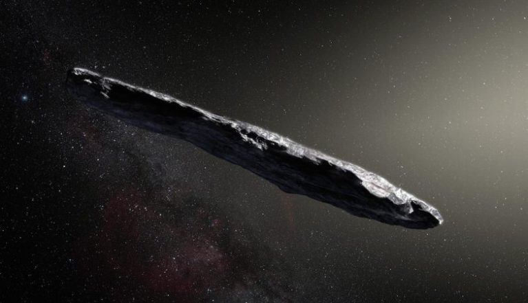 """Um astrônomo de Harvard acredita que um """"nave extraterrestre"""" está vindo para Terra"""