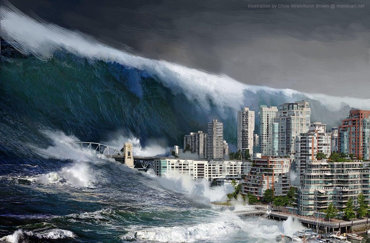 Como sobreviver a um tsunami, segundo a ciência