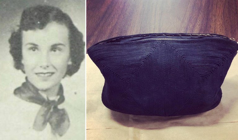 Uma bolsa do século passado foi encontrada e escondia uma linda história de amor