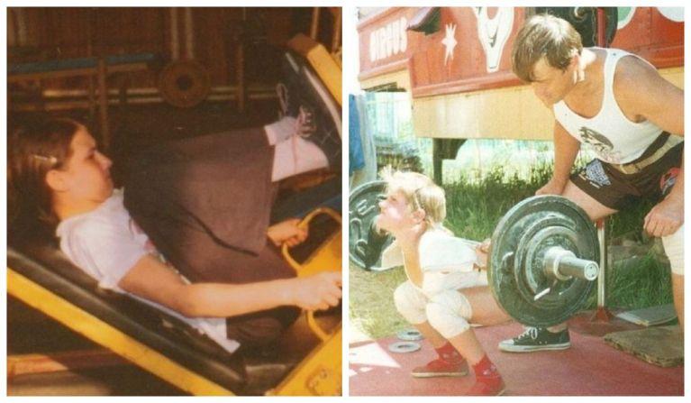 Ela foi conhecida como a garotinha mais forte do mundo e é assim que ela está hoje