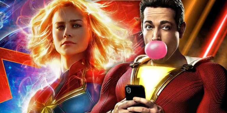 Trailer de Shazam! faz referência à Capitã Marvel