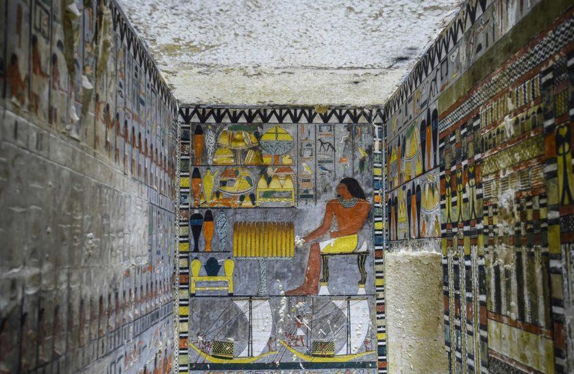 Nova tumba egípcia de 4 mil anos foi encontrada extremamente conservada