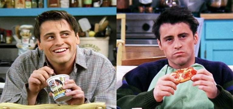 7 melhores e mais engraçados momentos do Joey em Friends