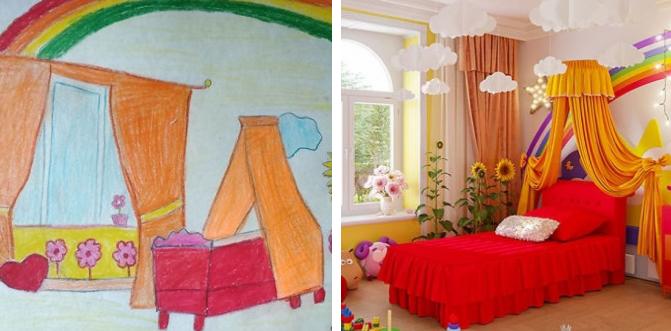 Designers trouxeram à realidade os quartos imaginados por crianças ao redor do mundo