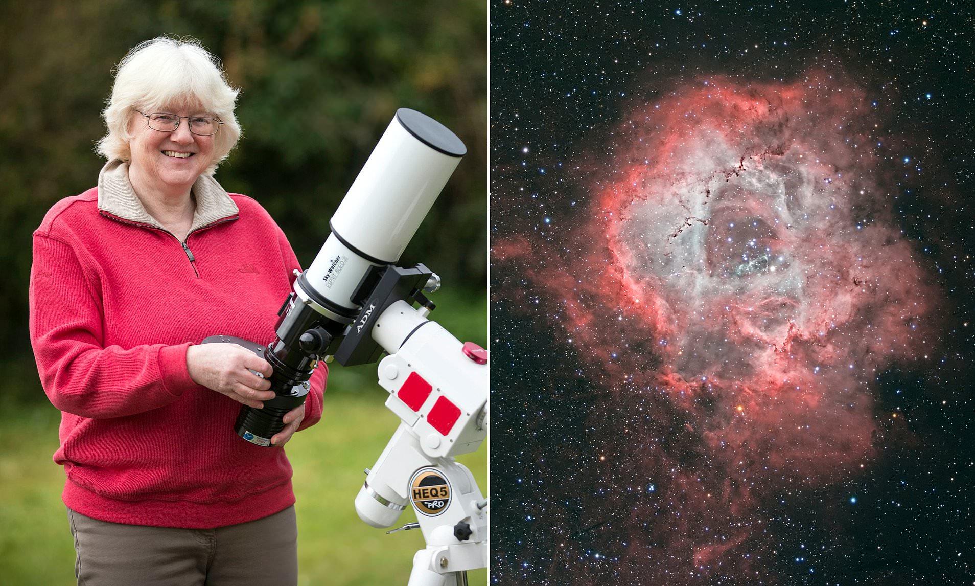 Vovó tirou foto espacial e até a NASA mostrou interesse em sua arte