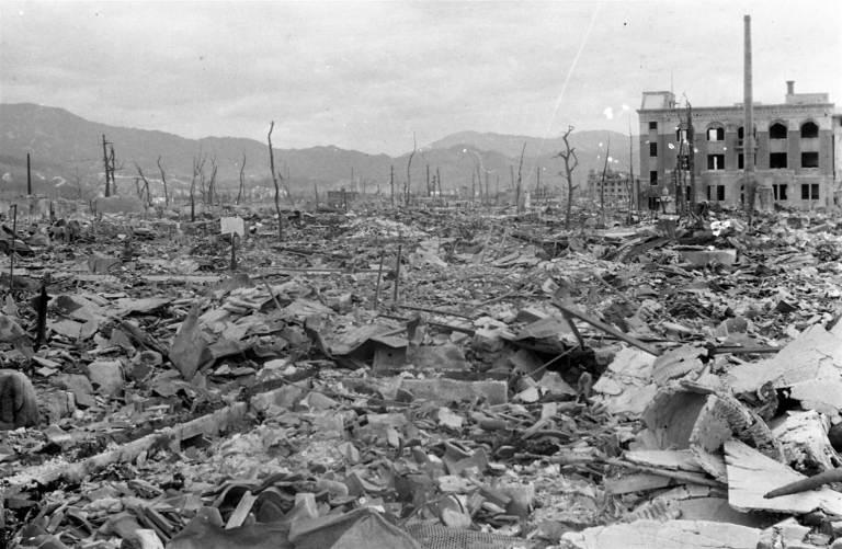 Finalmente foram descobertos os restos da fantasmagórica Hiroshima