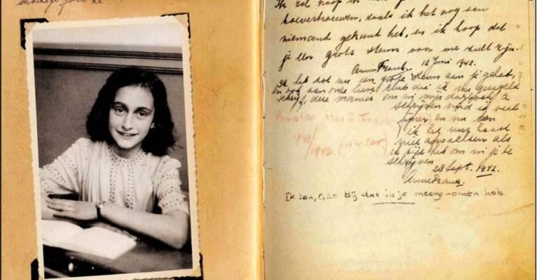 O que aconteceu com os grandes amores de Anne Frank citados em seu diário