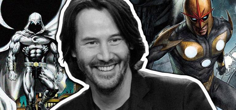 8 personagens que Keanu Reeves poderia interpretar no MCU