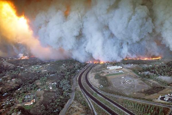 Cedar Fire California 600x400, Fatos Desconhecidos