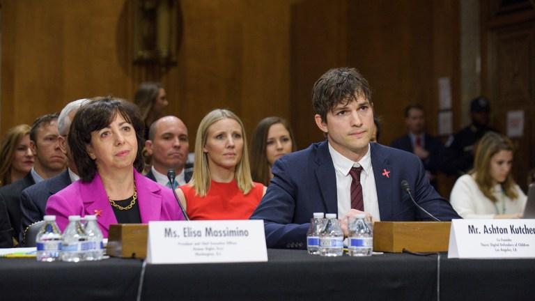 Fundação de Ashton Kutcher salva crianças de tráfico sexual