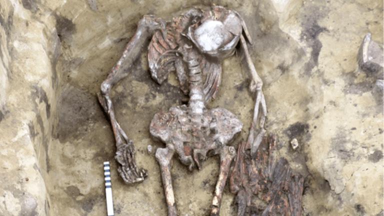 """Esqueleto encontrado está sendo chamado de """"homem-pássaro"""" e intriga pesquisadores"""