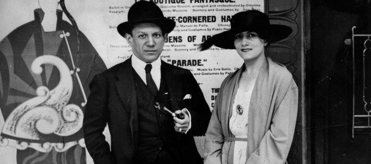 A diferente história de amor entre Pablo Picasso e Olga