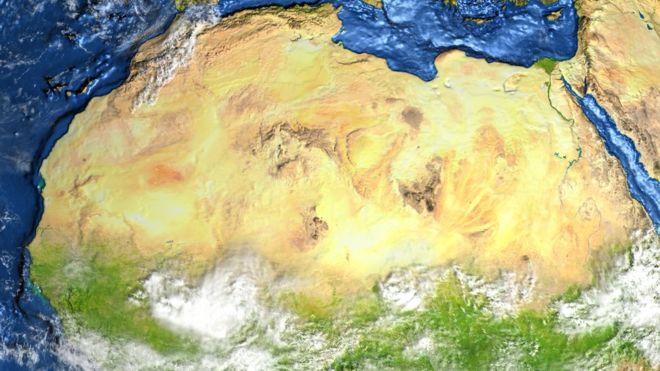 Como era o deserto do Saara há milhares de anos atrás?