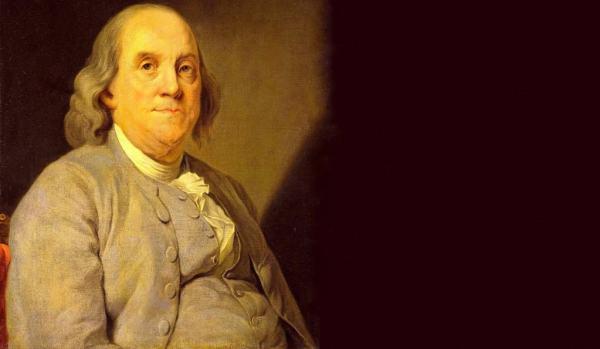 Benjamin Franklin 600x349, Fatos Desconhecidos