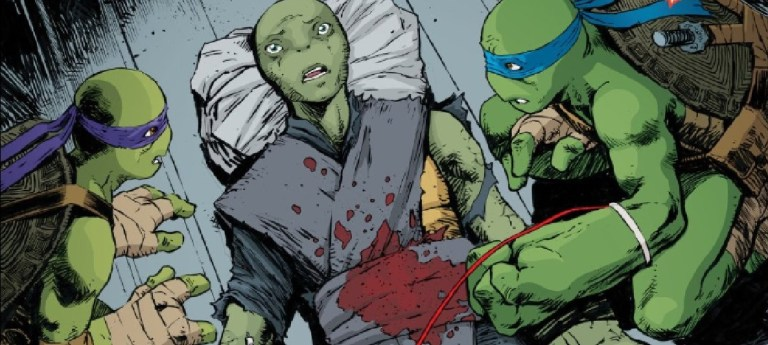 Revelado o visual da nova integrante feminina das Tartarugas Ninja