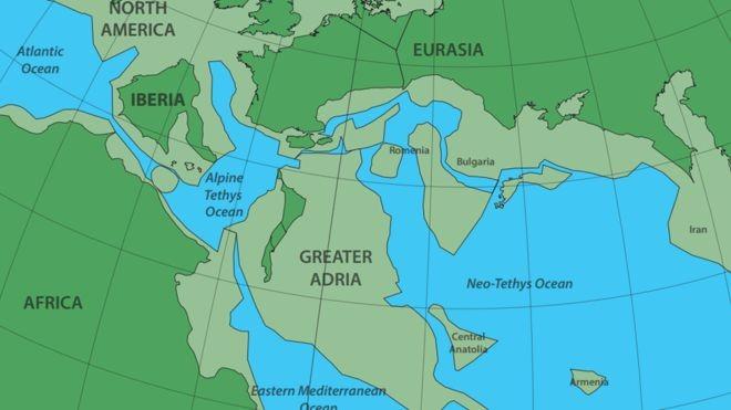 """Descobriram um """"continente secreto"""" perdido debaixo da Europa"""