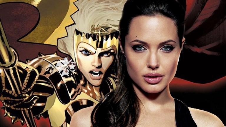 Imagens de bastidores mostram Angelina Jolie nas gravações de Os Eternos