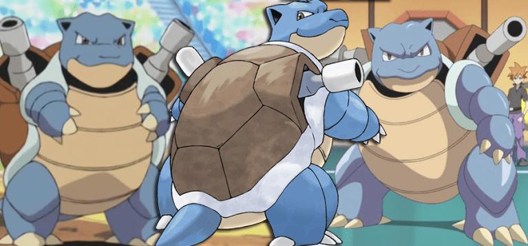 Blastoise quase teve uma pré-evolução bebê em Pokémon