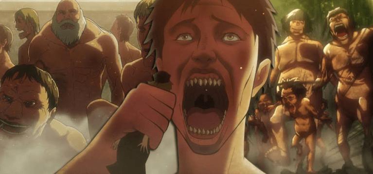 Attack on Titan revela terrível forma de multiplicação dos titãs