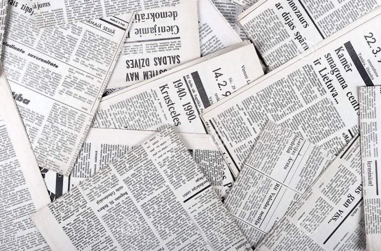 7 principais manchetes do século XIX