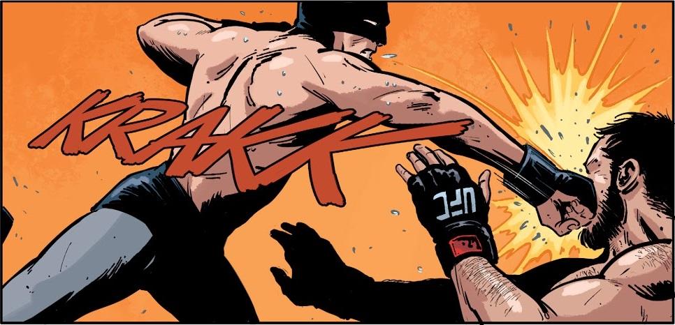 Batman se torna o campeão do UFC no Universo DC