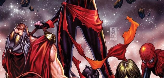 Capitã Marvel acaba de decapitar Thor em novo quadrinho da Marvel