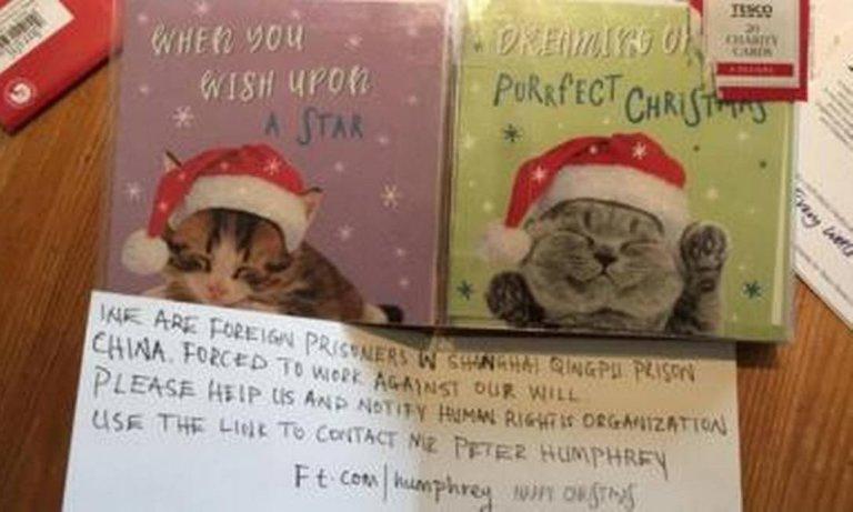 Garota de 6 anos acha mensagem de socorro em cartão de Natal