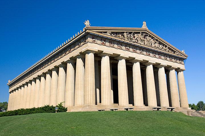 Como eram 7 monumentos da Antiguidade quando foram construídos?
