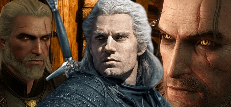 Como a série de The Witcher se relaciona com os jogos
