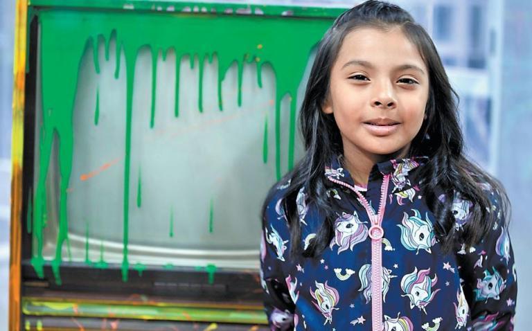 A mexicana de 8 anos que tem o QI maior que o de Albert Einstein