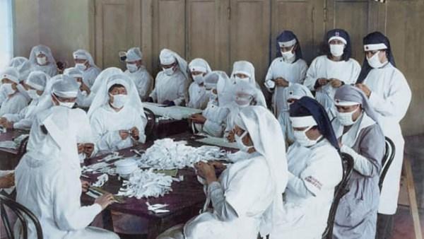Spanish Flu History Recolored 2 600x338, Fatos Desconhecidos
