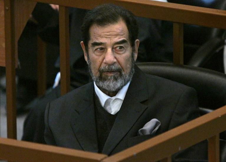 O que aconteceu com o cadáver de Saddam Hussein?