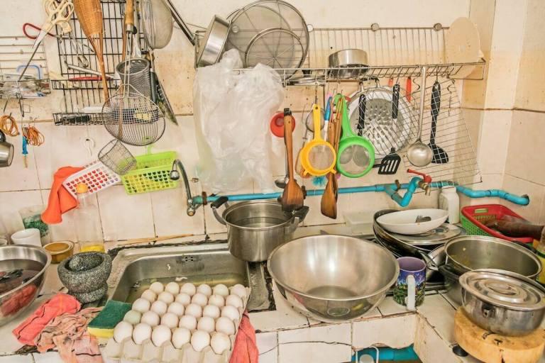 Ranking dos 7 cômodos mais sujos da sua casa