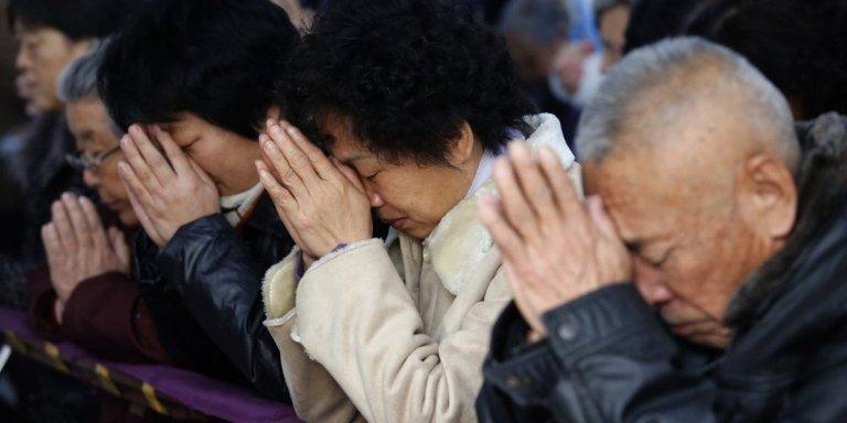 Mulher vai à igreja na Coreia do Sul e contamina 5000 pessoas