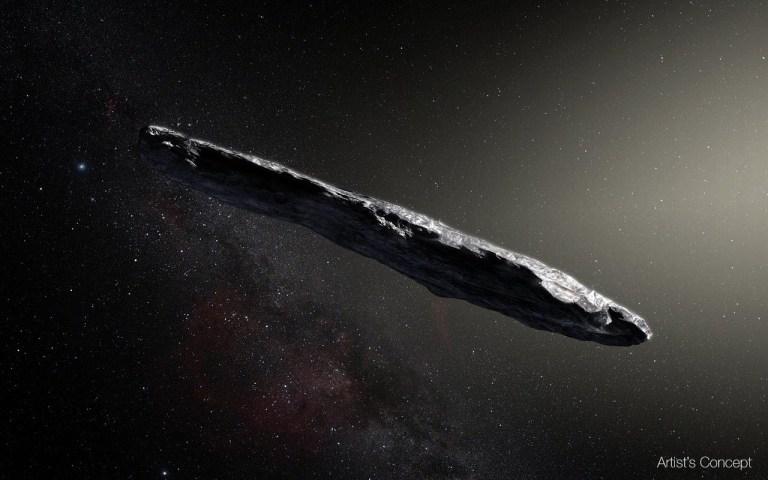 Objeto interestelar Oumuamua é alvo de nova teoria e chama a atenção