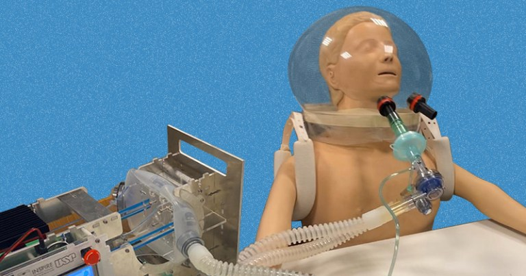 Cientistas brasileiros criam capacete respirador para tratar a Covid-19