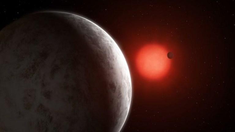 Primeira foto já tirada de um sistema planetário com dois exoplanetas