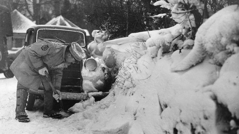 Como a cidade de São Paulo registrou neve em 1918?