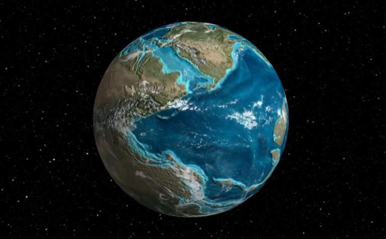 Mapa interativo mostra onde era sua cidade na Terra há 750 milhões de anos