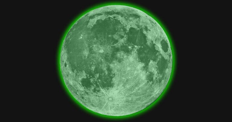 Estudo diz que a lua é radioativa